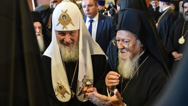 Russian Orthodox Church cuts ties with Constantinople over Ukraine