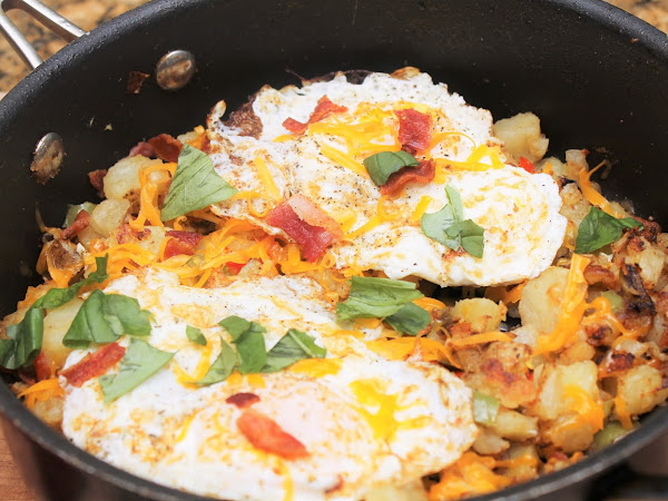 Quick Breakfast Skillet Potatoes