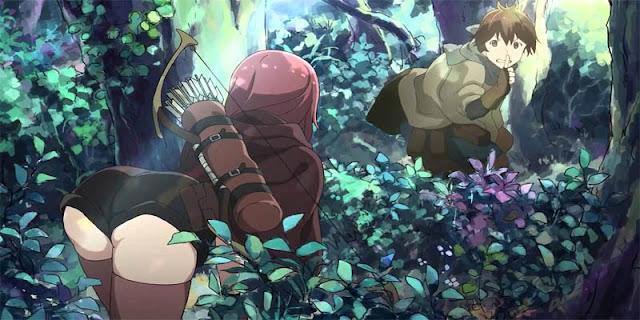 Rekomendasi Anime Game, Tentang Masuk Dunia Game Hai to Gensou no Grimgar terbaru
