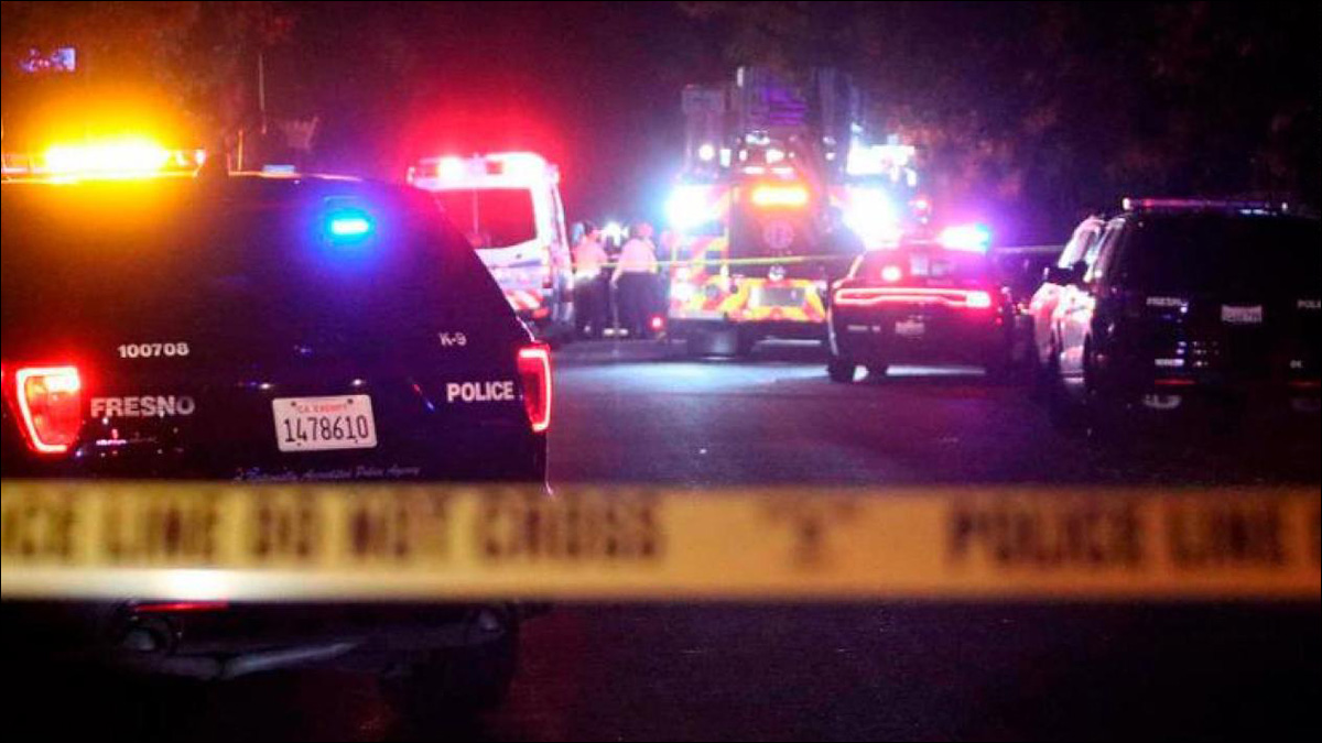 Six arrested in Fresno backyard party shooting