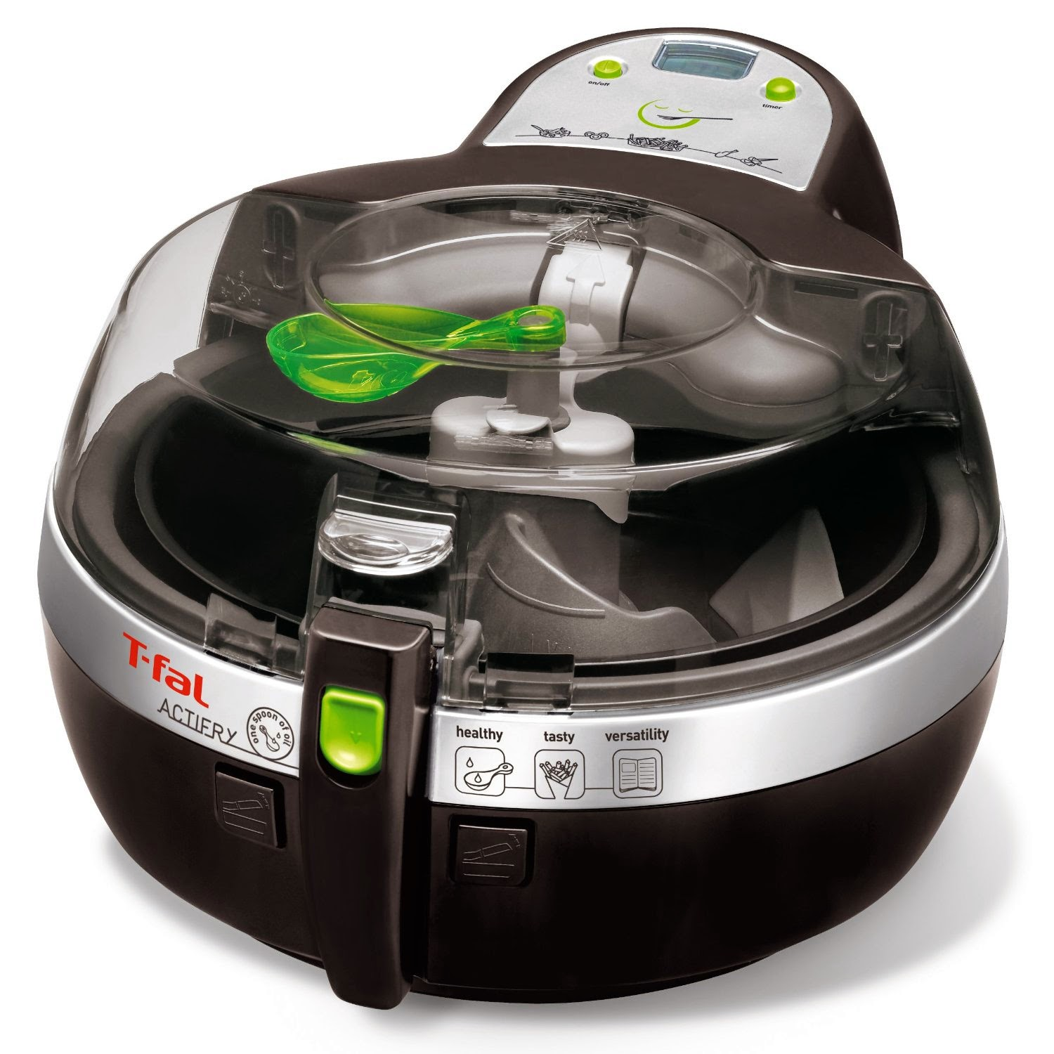 T-fal FZ700251 ActiFry Low-Fat Healthy Multi-Cooker, review, uses little or no oil to cook meals, simple & easy to use and clean