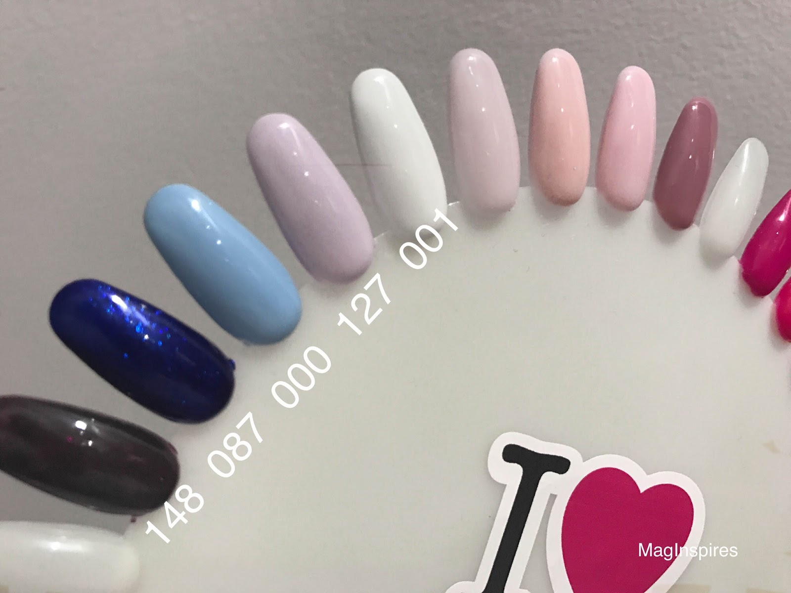 Maginspires Beauty Blog Semilac Moje Kolory Lakierow Hybrydowych