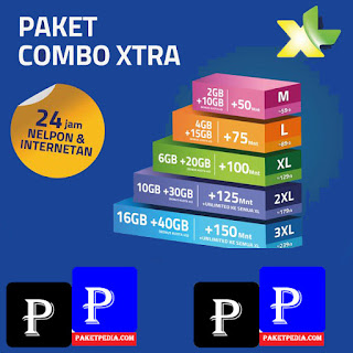 Cara Daftar Paket Combo Xtra XL