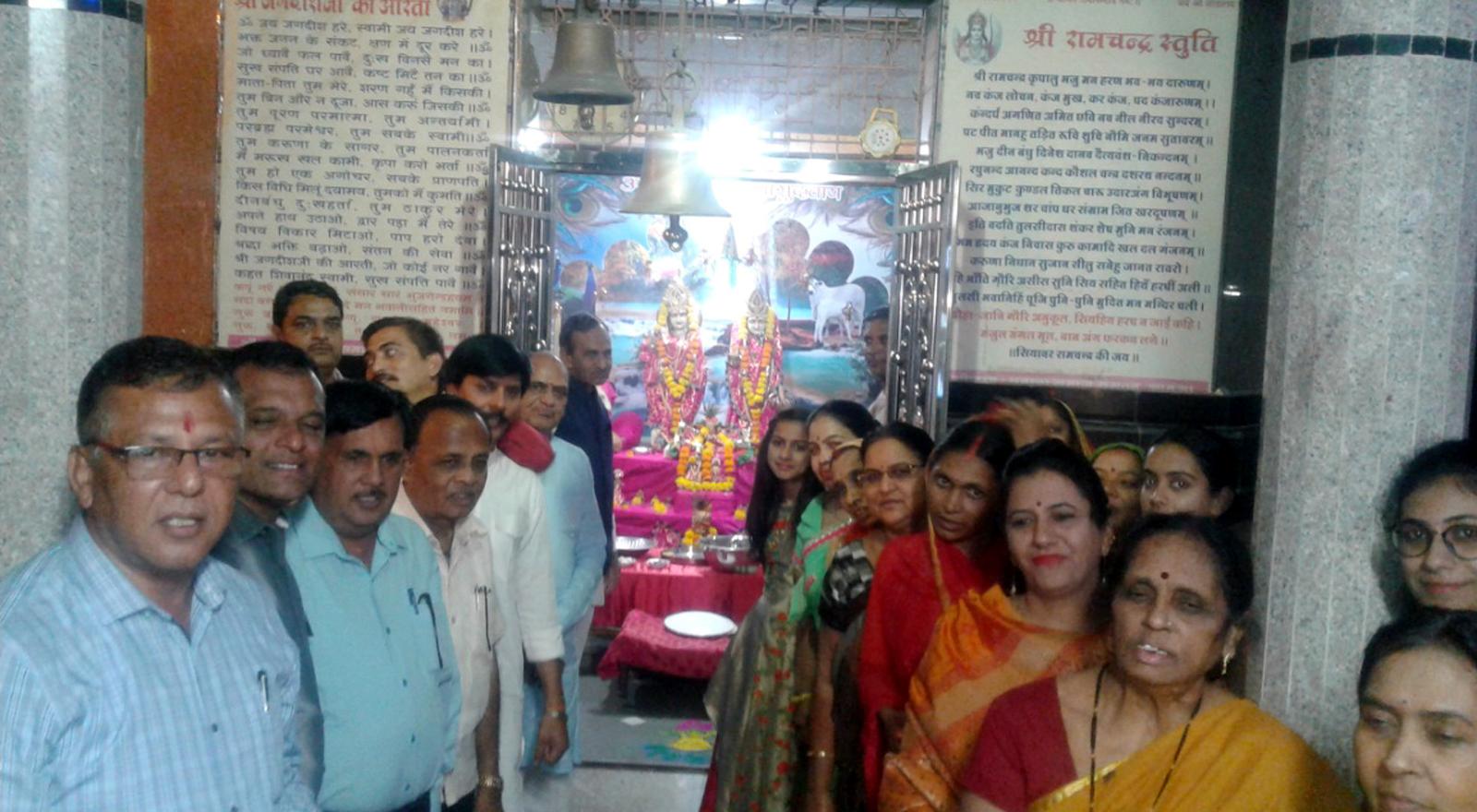 Jhabua News-आसरा पारमार्थिक ट्रस्ट ने मनाया दीपावली मिलन समारोह