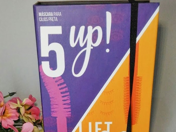 Lançamento Vult Cosmética: Máscara de Cílios Preta LIFT&GO e 5UP!