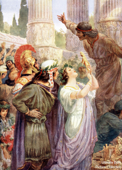 Demetrius the Silversmith of Ephesus stirred up the city into a riotous frenzy, shouting, 'Great is Artemis of the Ephesians!' (Acts 19:28).