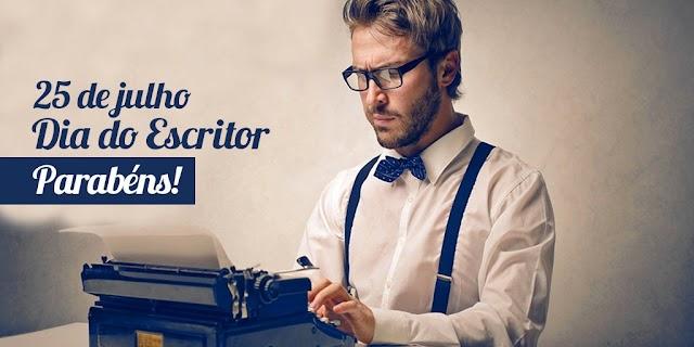 Hoje é Dia do Escritor