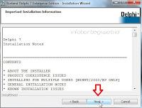 Cara mengInstal Delphi 7 di Windows 7, 8 dan 10