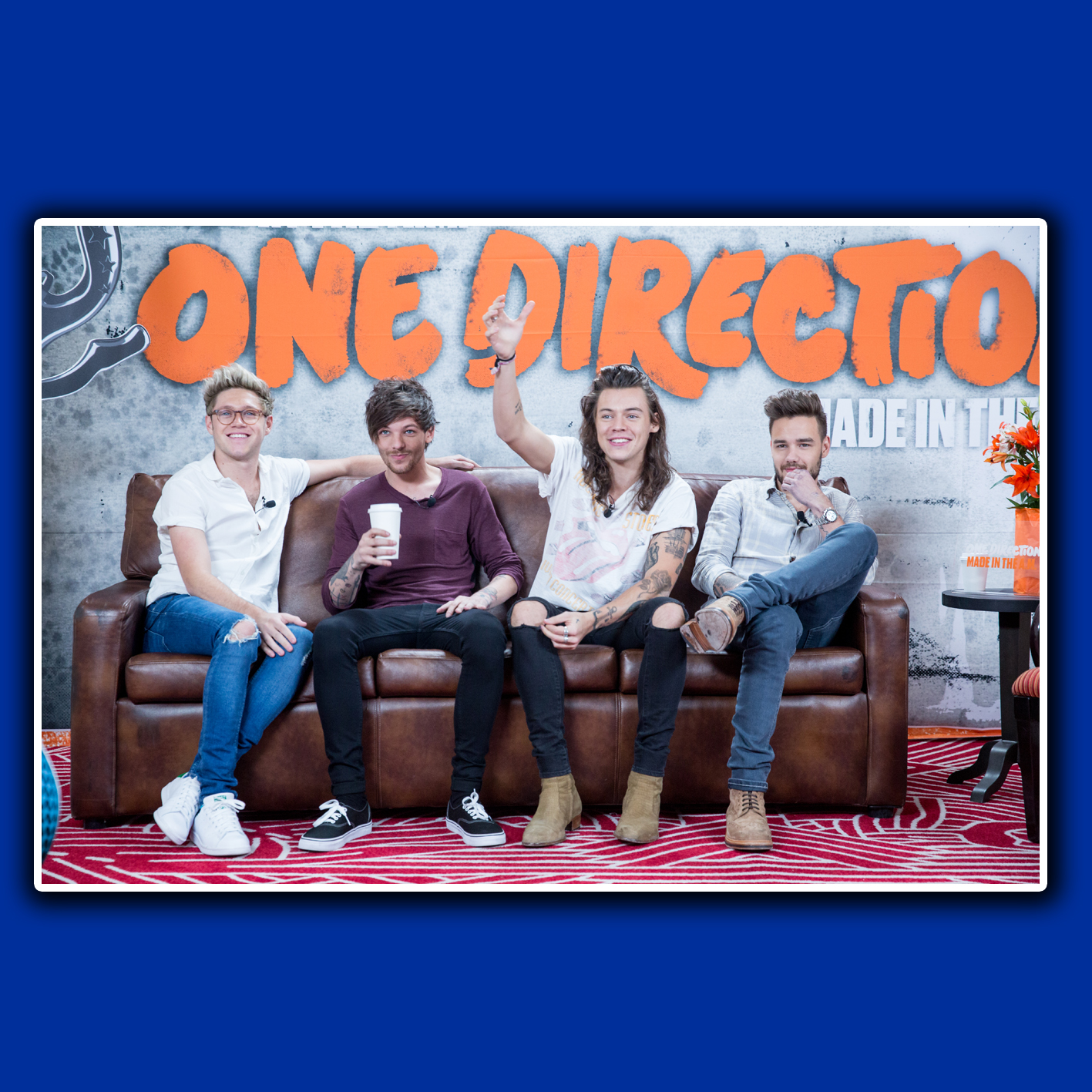 POSTER CUSTOM, POSTER ONE DIRECTION