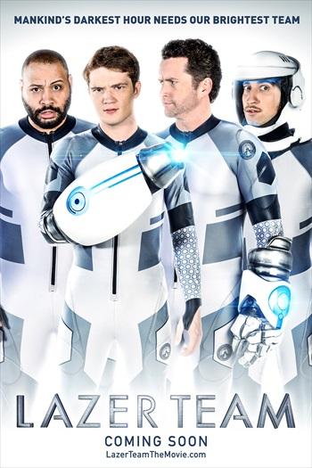 Lazer Team 2015 English Movie Download
