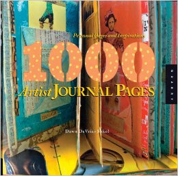1000 artist journal page