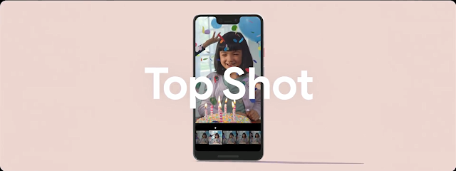 Image result for pixel 3 top shot