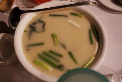 Akel's Halang Manok Soup at Parilya