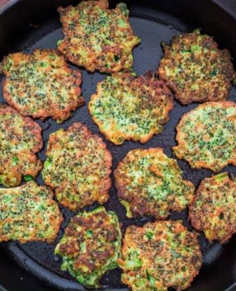 These light, golden-brown Broccoli Fritters make a delicious vegetarian dinner or lunch