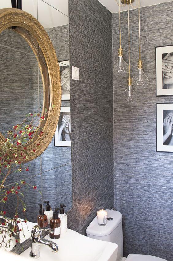Bombillas vistas para decorar tu baño