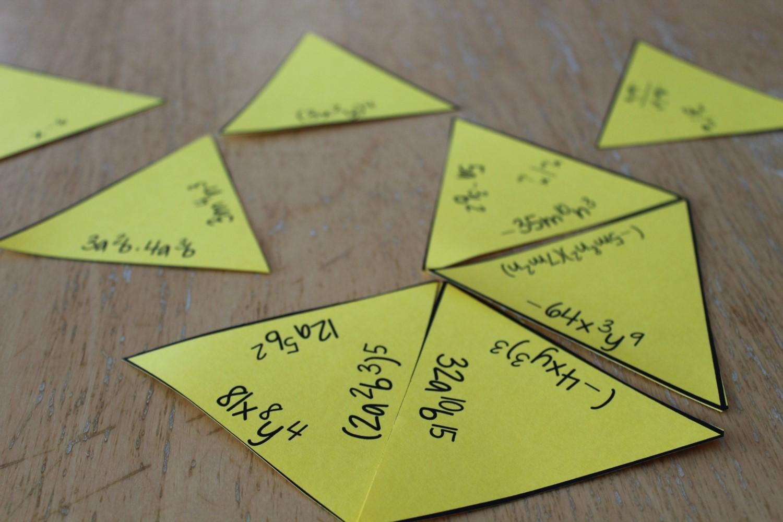 Math Dyal Tarsia Puzzles