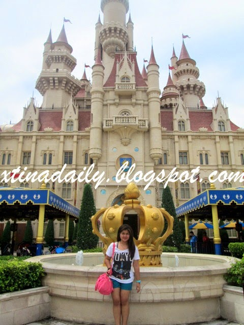 Shrek Castle in USS