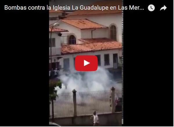 PNB bombardea Iglesia de Las Mercedes, como Isis