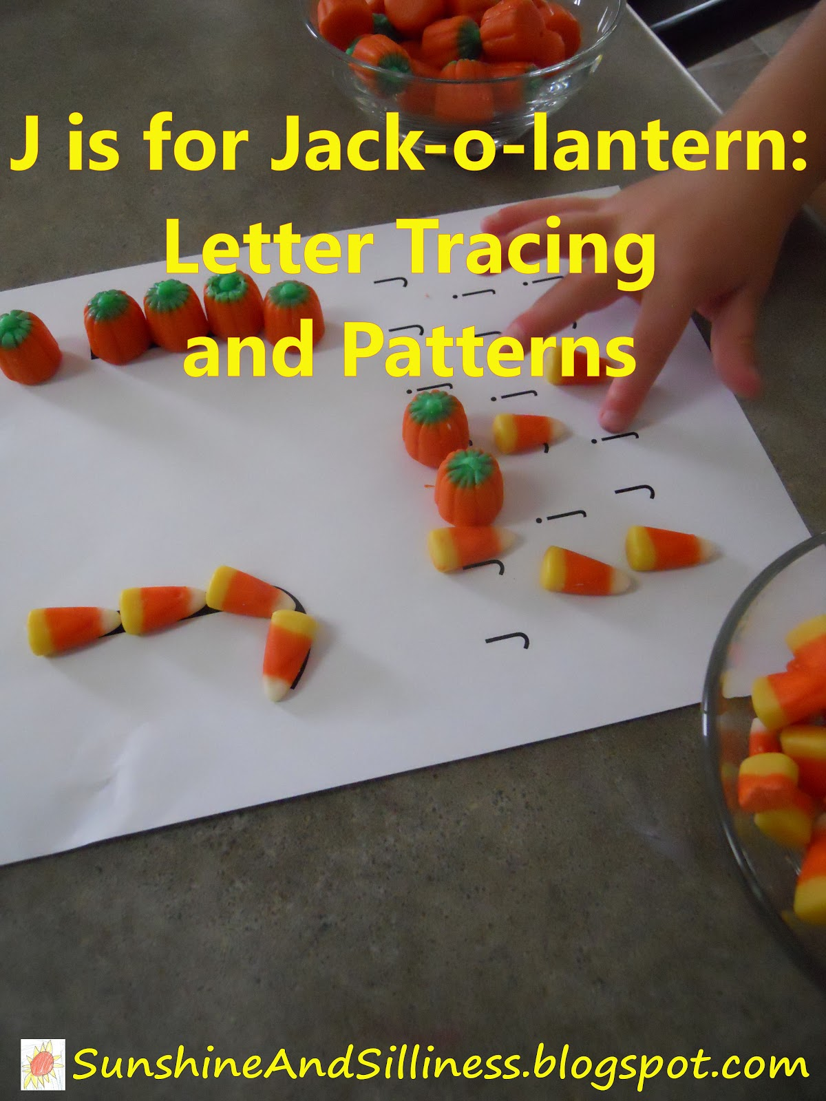 Sunshine And Silliness J Is For Jack O Lantern