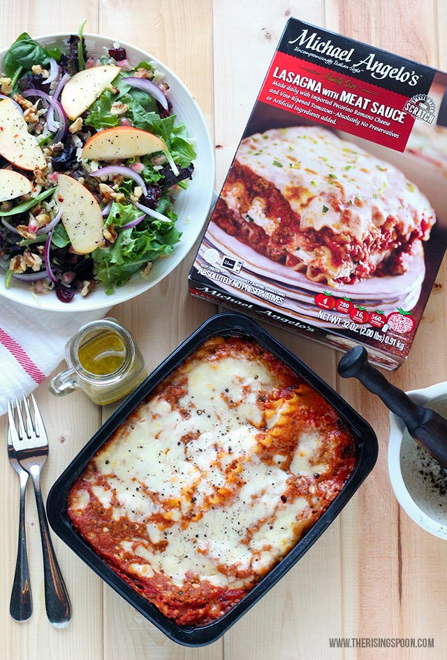 Easy Dinner Idea For The Holidays + Quick Salad Recipes