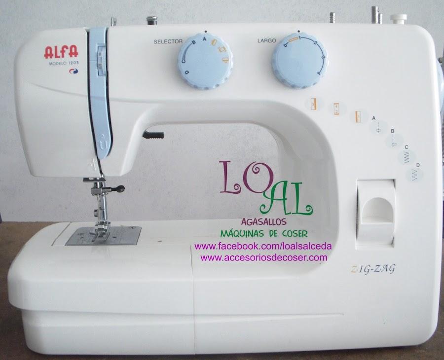 alfa 1203 maquina de coser