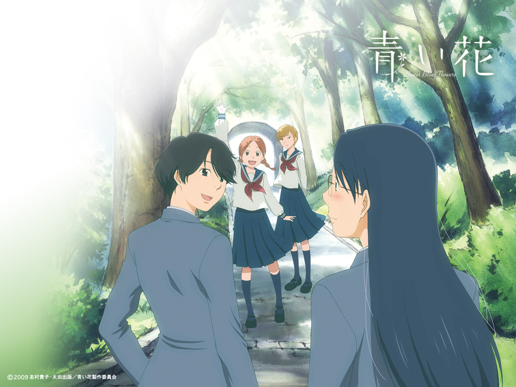 Whispered Words (Sasameki Koto) - Romance Anime