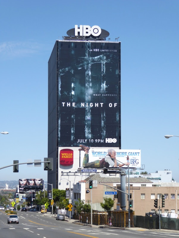 Giant Night Of series premiere billboard