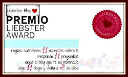Mi 20º premio, Liebster Blog
