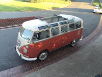 VW 21 window deluxe bus