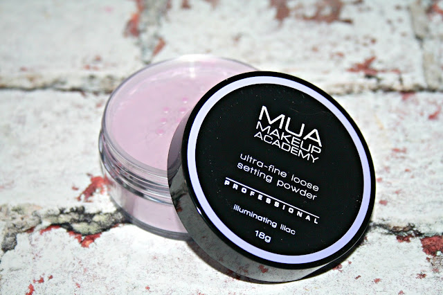 MUA Ultra-fine loose Setting Powders - Illuminating Lilac