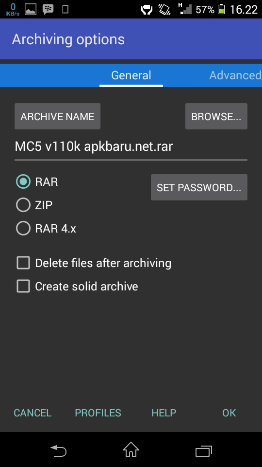 RAR for Android free Download