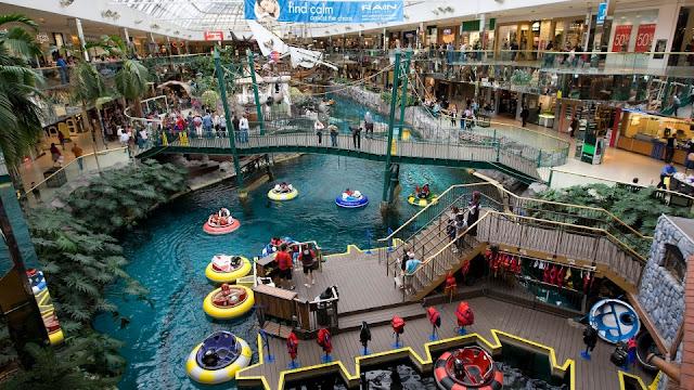 Los centros comerciales más grandes e impresionantes del mundo, West Edmonton Mall Canadá
