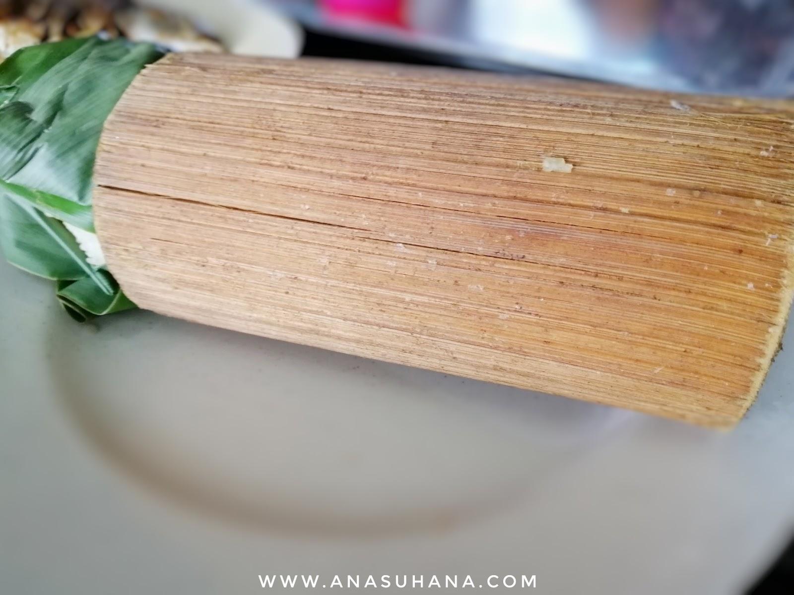 Nasi Bamboo Sungai Klah Sungkai Perak