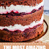 The Most Amazing Black Forest Naked Cake