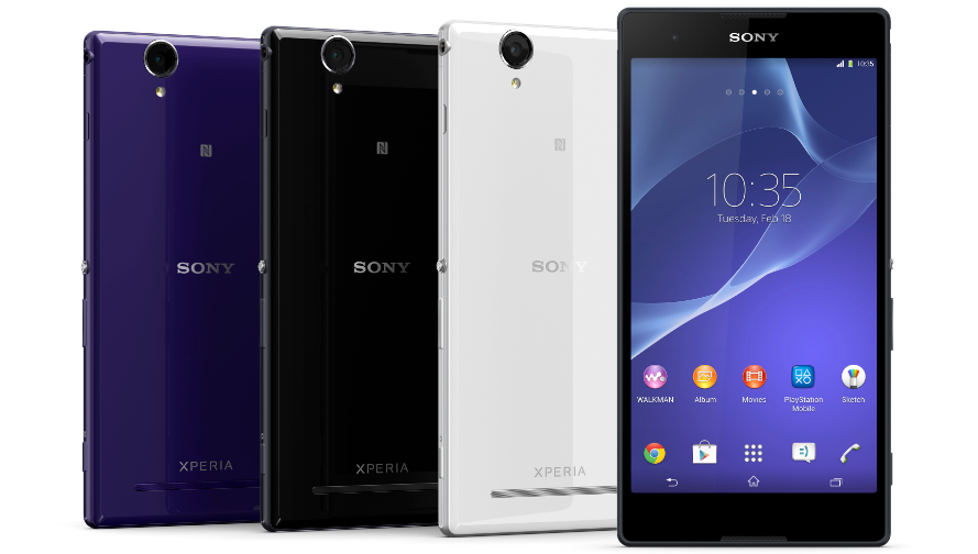 Sony Xperia T2 Ultra and T2 Ultra dual