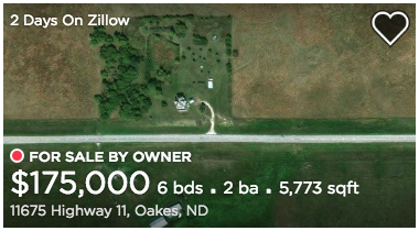 11675 90th St SE Oakes North Dakota Gordon-Van Tine No. 115