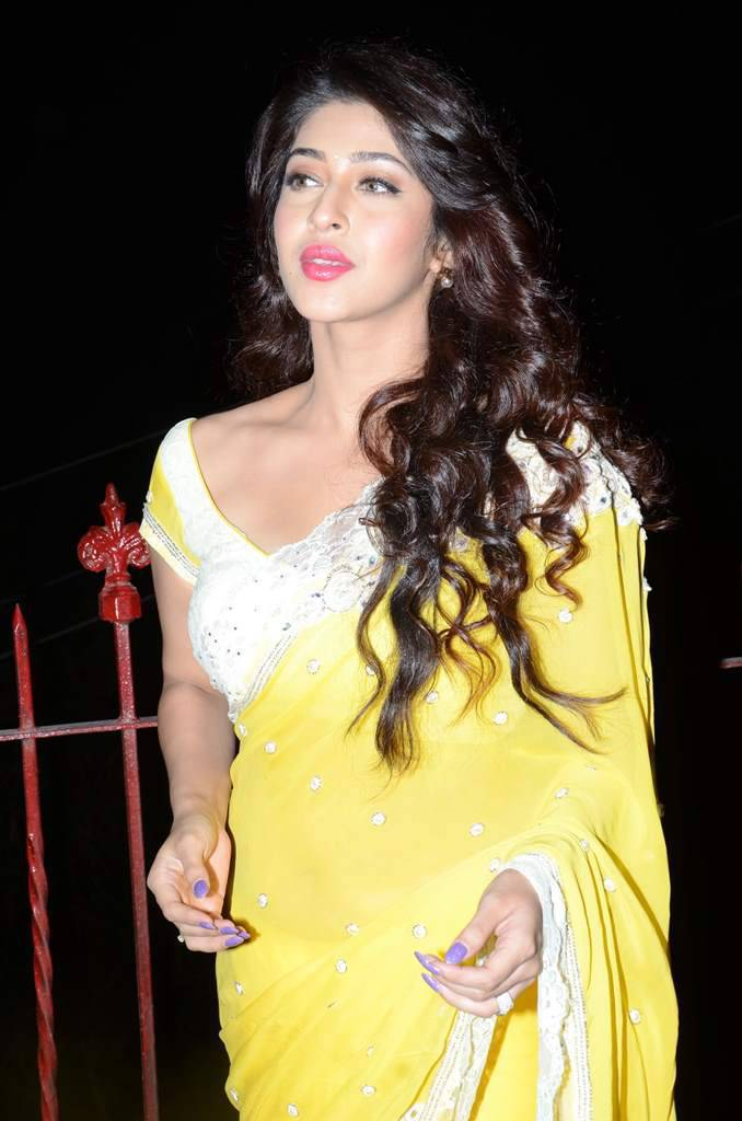 Sonarika Latest Images In Yellow Saree