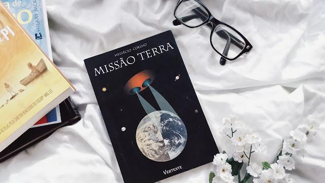 missão terra, helvecio coelho, vertente, book haul, top livros, através da escrita