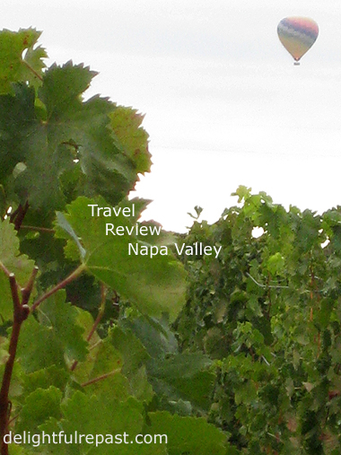 Travel Review - Napa Valley - Senza Hotel and Hall Winery / www.delightfulrepast.com