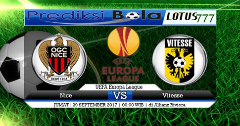PREDIKSI SKOR Nice vs Vitesse  29 SEPTEMBER 2017