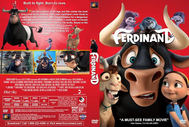Ferdinand DVD Cover