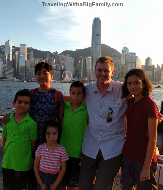 Can a big family take a long trip overseas?