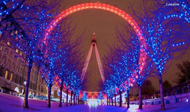 London on Christmas