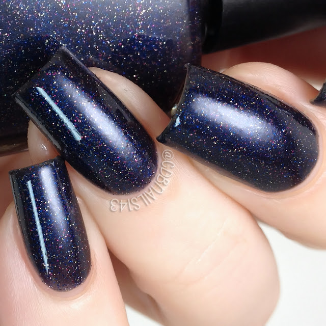 Poetry Cowgirl Nail Polish-Midnight in Paris