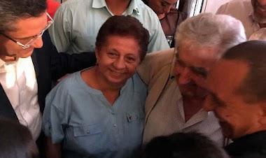 CGTP  Presente en Conferencia - Conversatorio del Ex Presidente de Uruguay Jose Mujica