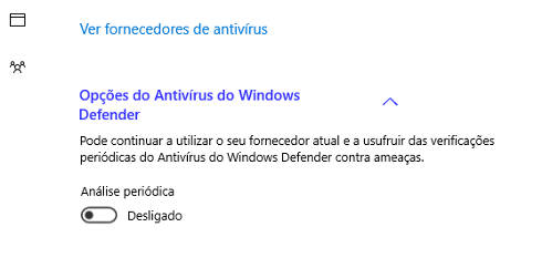 windows defender segundo antivirus