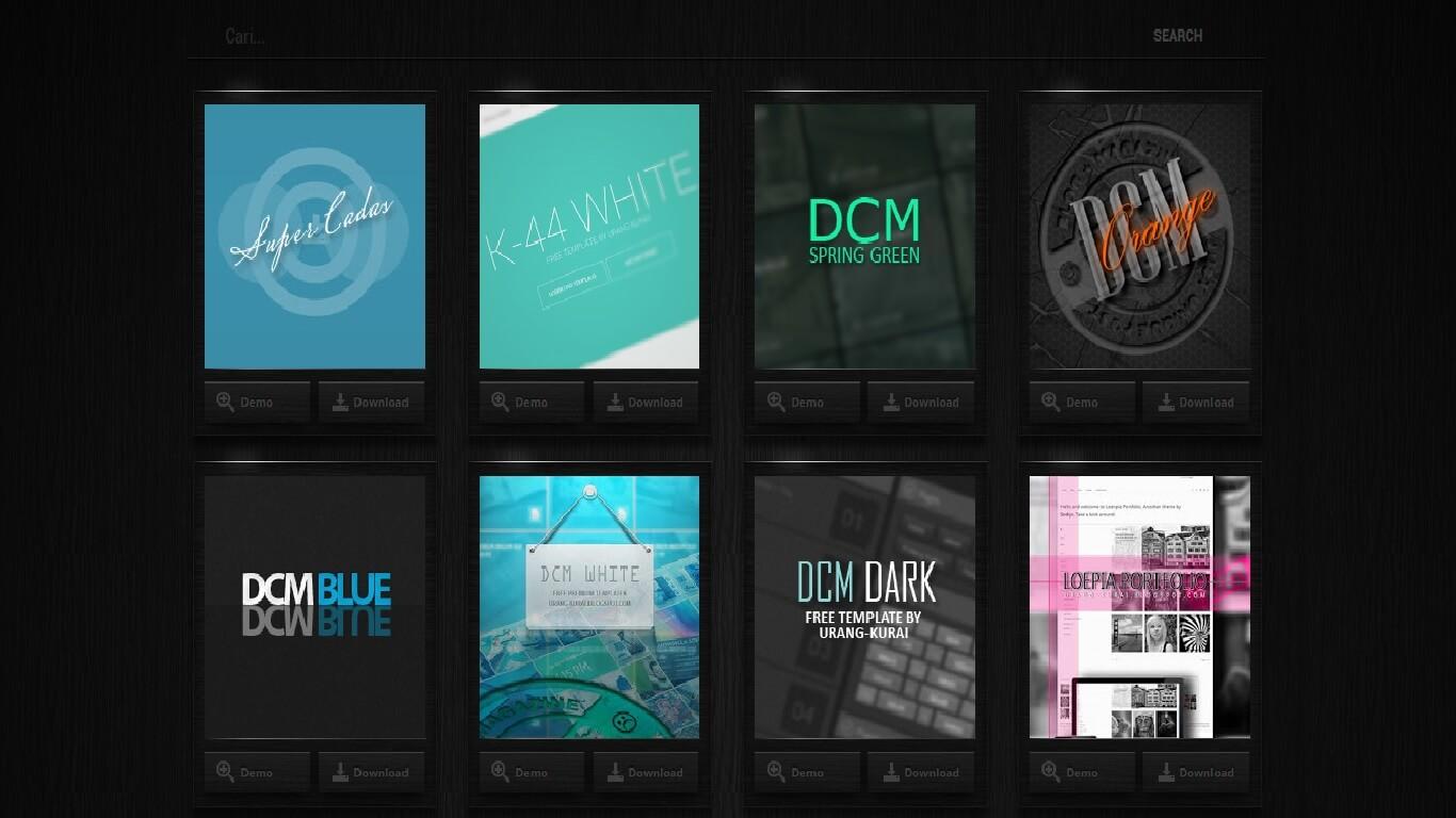 Tempat Download Template/Theme Blog Terbaru dan Gratis - Hayo Baca