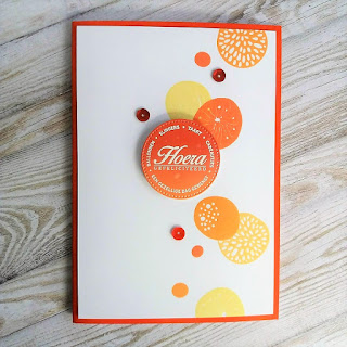 Birthday card with Simple Flowers stamp set from Altenew