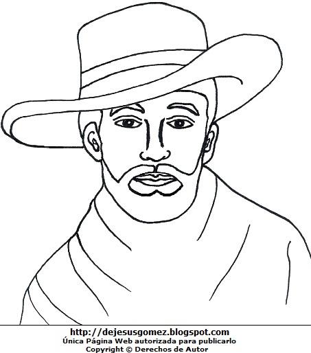 Dibujos De Alexis Sanchez Para Colorear Abecedarios Para