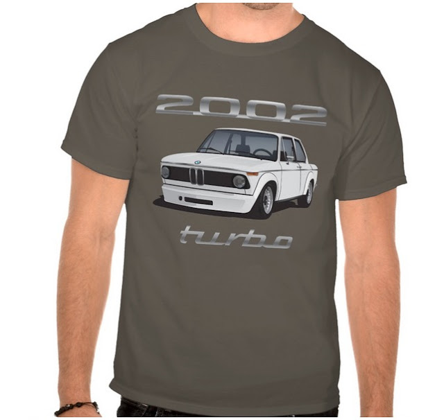 BMW 2002 turbo e20 t-shirt